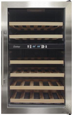 vinotemp vt342zone 20 freestanding dual zone wine cooler. Black Bedroom Furniture Sets. Home Design Ideas