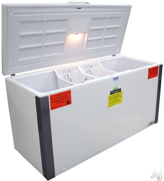 Summit VT225 21.5 cu. ft. Freestanding Laboratory Chest Freezer with Manual Defrost, Capable of -30, U.S. & Canada VT225