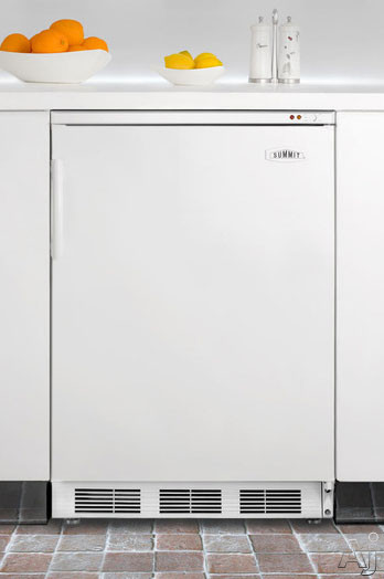 "Summit Med Series VT65MBIX 24"" Undercounter Medical Freezer with 3.5 cu. ft. Capacity, 3 Removable, U.S. & Canada VT65MBIX"