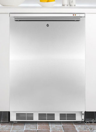 "Summit Med Series VT65MLBISSHH 24"" Undercounter Medical Freezer with 3.5 cu. ft. Capacity, 3, U.S. & Canada VT65MLBISSHH"