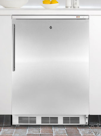 "Summit Med Series VT65MLBISSHV 24"" Undercounter Medical Freezer with 3.5 cu. ft. Capacity, 3, U.S. & Canada VT65MLBISSHV"