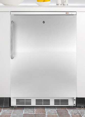 "Summit Med Series VT65MLBISSTB 24"" Undercounter Medical Freezer with 3.5 cu. ft. Capacity, 3, U.S. & Canada VT65MLBISSTB"