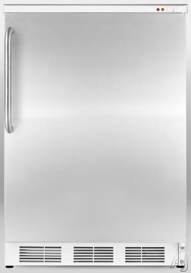 Summit Med Series VT65MSSTB 3.5 cu. ft. Medical Freezer with 3 Removable Storage Baskets, Manual, U.S. & Canada VT65MSSTB