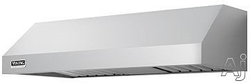Viking Professional Series VWH3610SS 36 Inch Pro-Style Wall Mount Range Hood with 460 CFM Internal Blower, Heat Sensor, Halogen Lights, Baffle Filters, Non-Ducted Option and 10 Inch Height: Stainless Steel