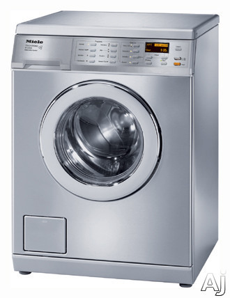 "Miele W3035 24"" Front Load Washer with 2.52 cu. ft. Capacity, 11 Wash Programs, Stainless Steel, U.S. & Canada W3035"