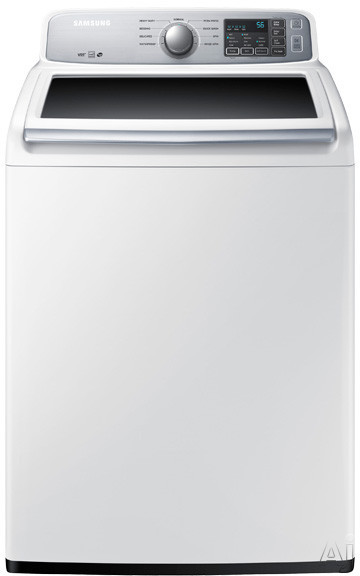 Samsung WA45H7000A 27 Inch Top Load Washer with Pre-Soak Option, ENERGY STAR, Self-Clean, Quick Wash Cycle, Vibration Reduction, 9 Wash Cycles, 5 Temperature Settings and 4.5 cu. ft. Diamond Drum Interior WA45H7000A
