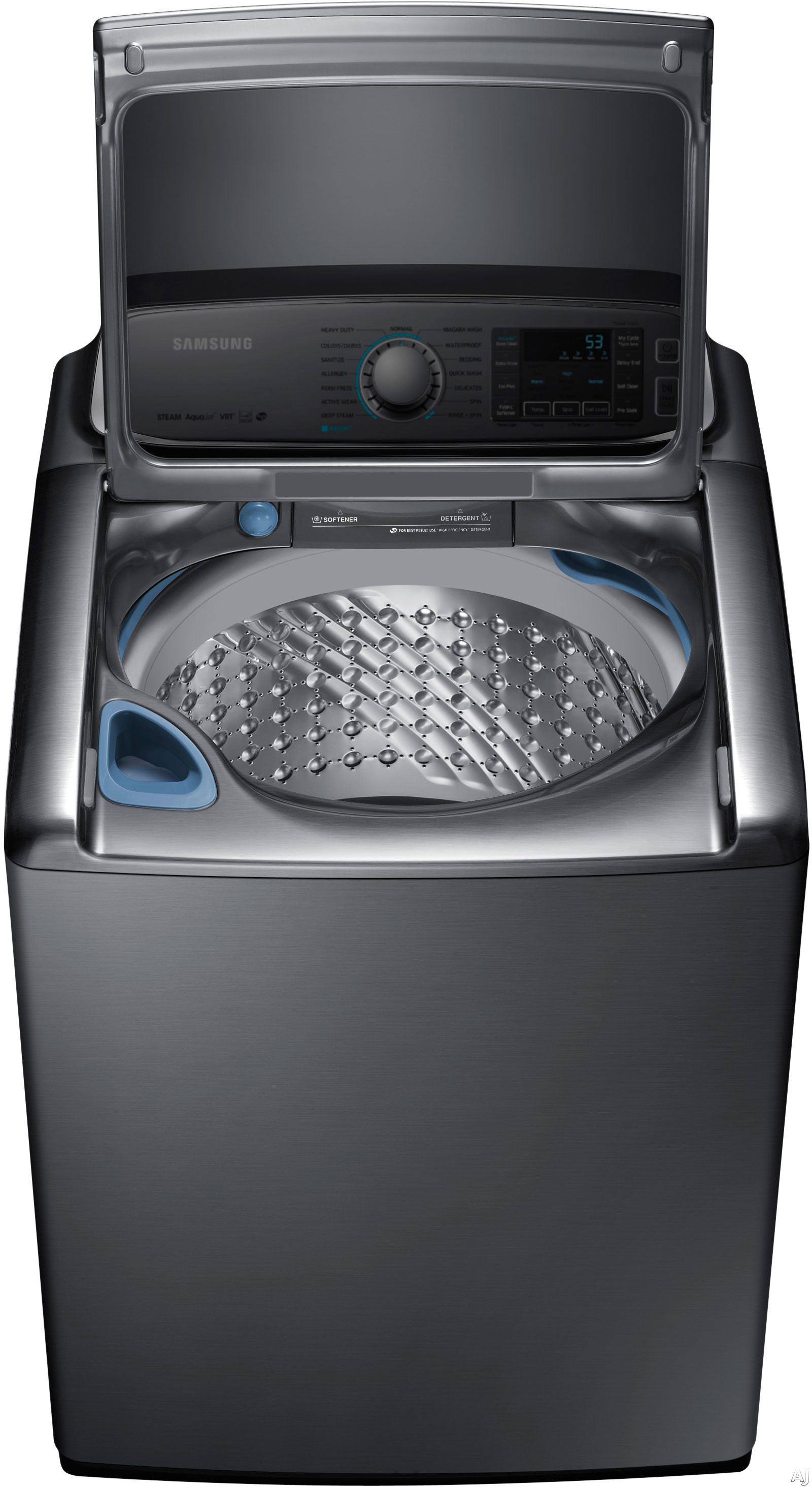 Samsung Wa56h9000a 30 Quot 5 6 Cu Ft Top Load Washer With 15