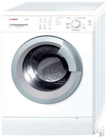 "Bosch Axxis Series WAS20160UC 24"" Front-Load Washer with 2.2 cu. ft. Capacity, 15 Wash Programs, U.S. & Canada WAS20160UC"