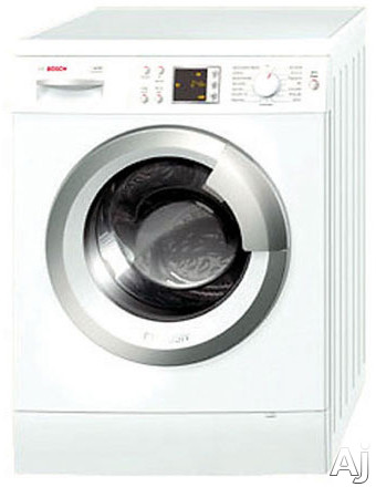 "Bosch Axxis Plus Series WAS24460UC 24"" Front-Load Washer with 2.2 cu. ft. Capacity, 15 Wash, U.S. & Canada WAS24460UC"