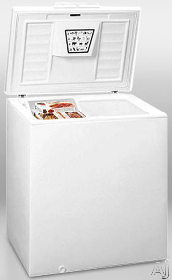 Summit WCH07 7.2 cu. ft. Chest Freezer with Manual Defrost, Foamed Lid, Counter-Balanced Hinges, One, U.S. & Canada WCH07