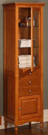 """Empire Industries Windsor Collection WCW 21"""" Contemporary Curio Cabinet with 2 Glass Shelves and, U.S. & Canada WCW"""