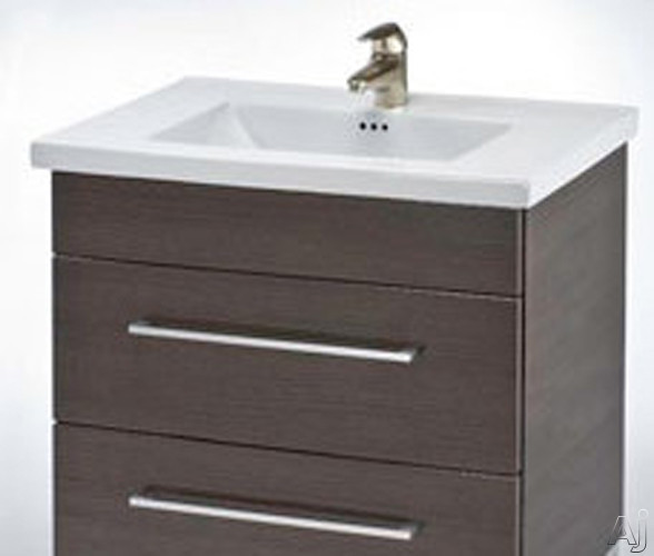 """Empire Industries Daytona Collection WDF3002POP 30"""" Contemporary Wall-Mount Vanity with 2 Drawers, U.S. & Canada WDF3002POP"""