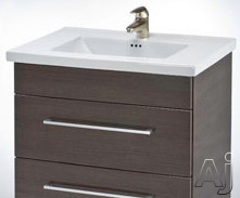 """Empire Industries Daytona Collection WDV2402BGS 23"""" Contemporary Wall-Mount Vanity with 2 Drawers, U.S. & Canada WDV2402BGS"""