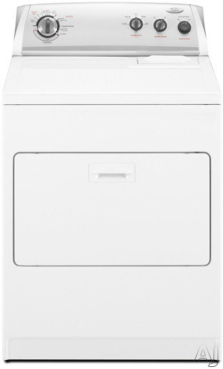 Whirlpool Wed5300vw 29 Quot Electric Dryer With 7 0 Cu Ft