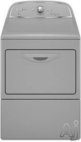 """Whirlpool Cabrio WGD5500X 27"""" Gas Dryer with 7.4 cu. ft. Capacity, 9 Drying Cycles, 4 Temperature, U.S. & Canada WGD5500X"""
