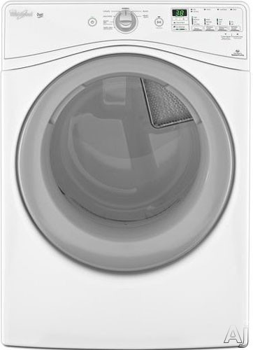Whirlpool Wed80hebw 27 Inch Electric Dryer With 7 4 Cu Ft