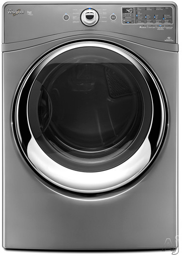 "Whirlpool Duet Steam WED88HEAC 27"" Electric Dryer with 7.4 cu. ft. Capacity, 10 Cycles, 5, U.S. & Canada WED88HEAC"