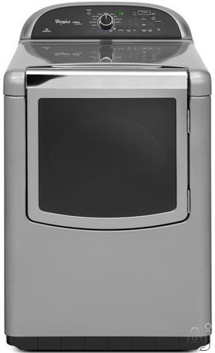 "Whirlpool Cabrio WED8900BC 29"" Electric High Efficiency Dryer with 7.6 cu. ft. Capacity, EcoBoost, U.S. & Canada WED8900BC"