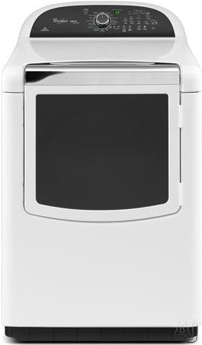 "Whirlpool Cabrio WED8900BW 29"" Electric High Efficiency Dryer with 7.6 cu. ft. Capacity, EcoBoost, U.S. & Canada WED8900BW"
