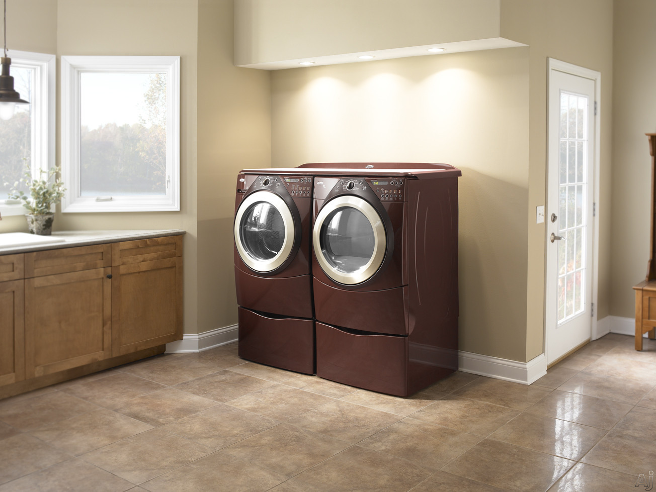Whirlpool Wgd9500tc 27 Quot Gas Steam Dryer With 7 0 Cu Ft