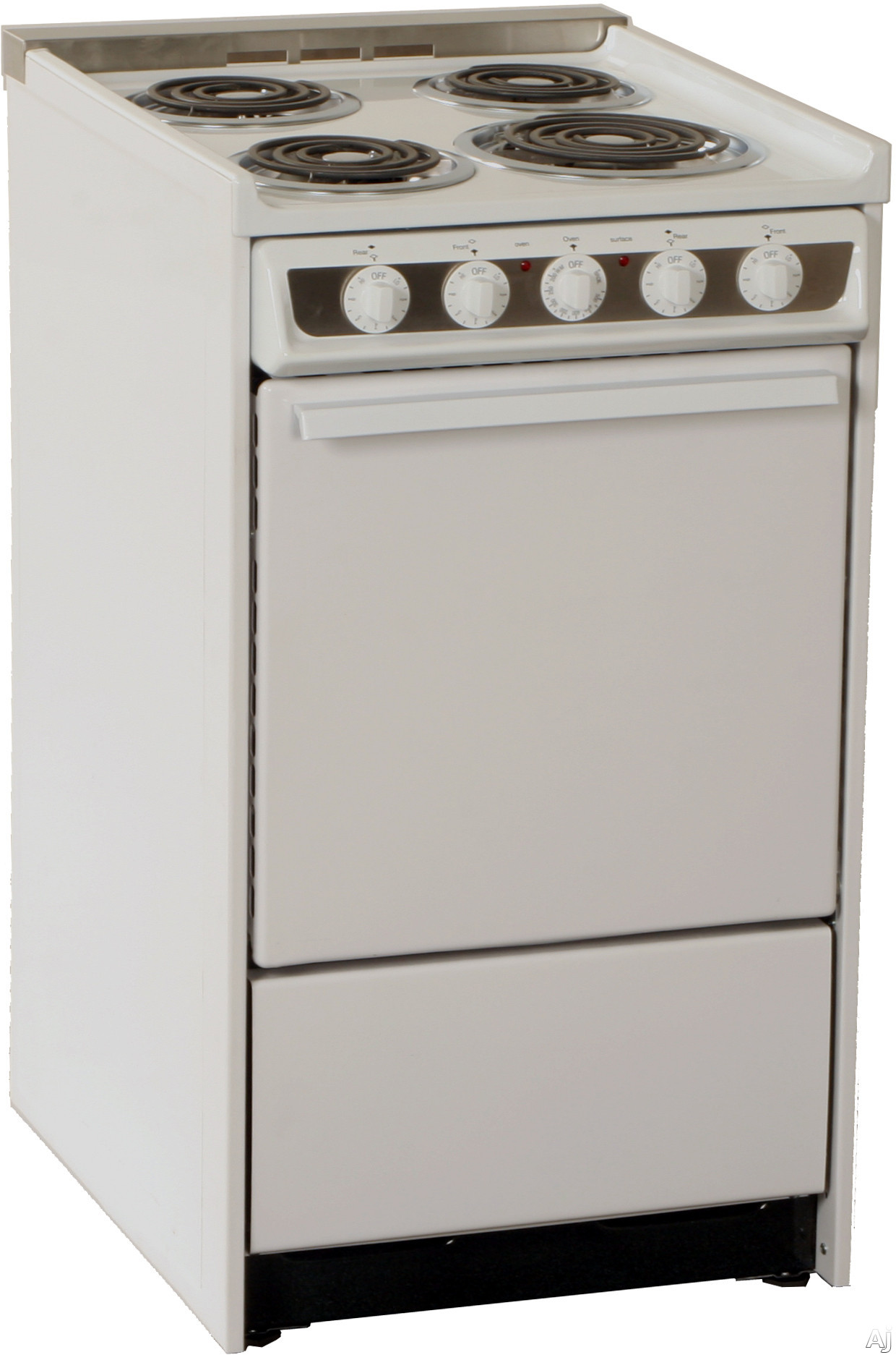 "Summit Professional Series WEM115 20"" Slide-In Electric Range with 2.46 cu. ft. Manual Clean Oven, U.S. & Canada WEM115"