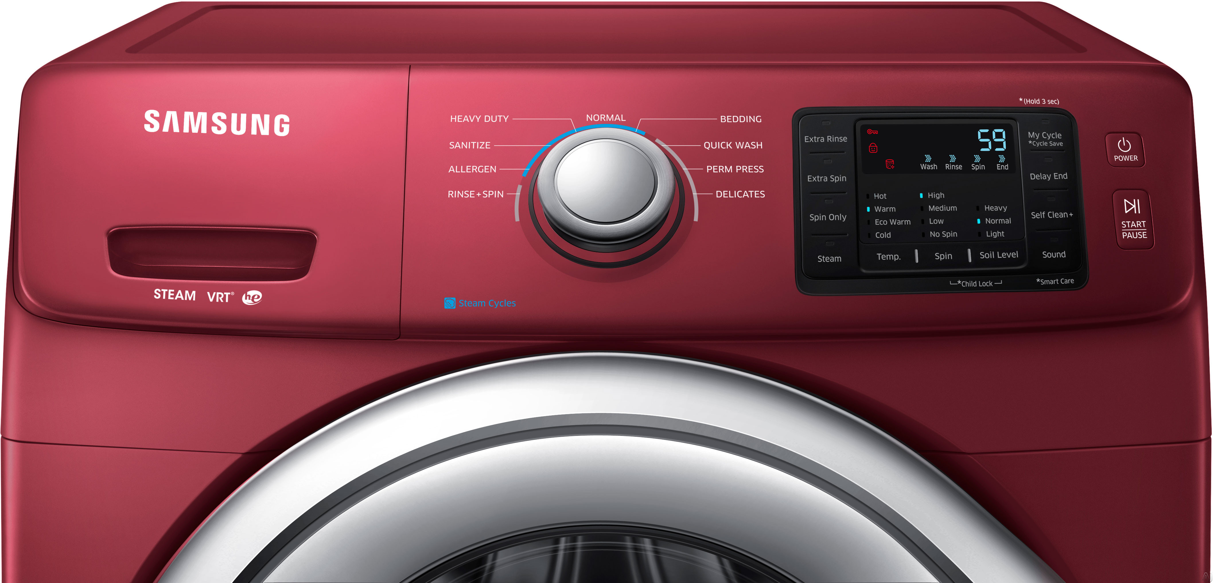 Samsung Wf42h5200af 27 Quot Front Load Washer With 4 2 Cu Ft