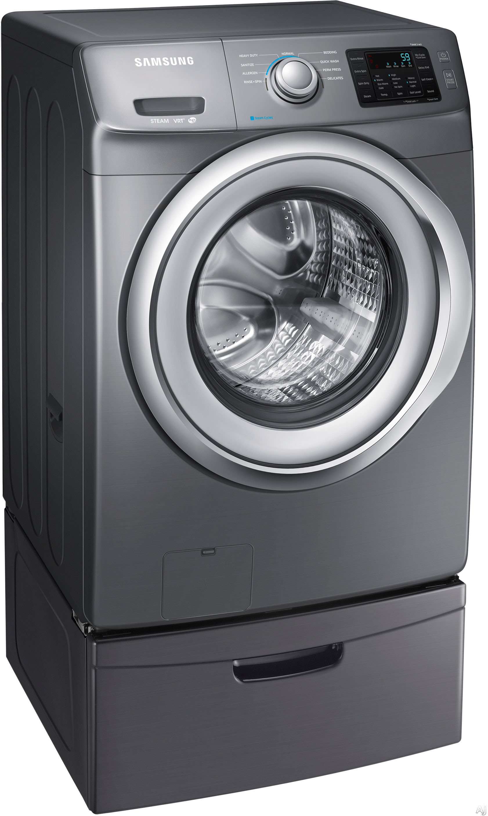 Samsung Wf42h5200a 27 Quot 4 2 Cu Ft Front Load Washer With