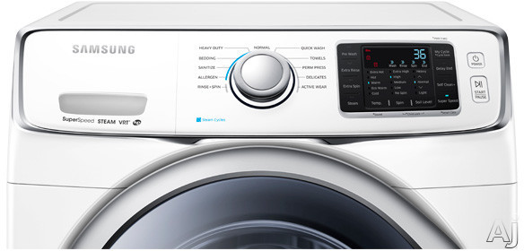 Samsung Wf42h5400aw 27 Quot Front Load Washer With 4 2 Cu Ft