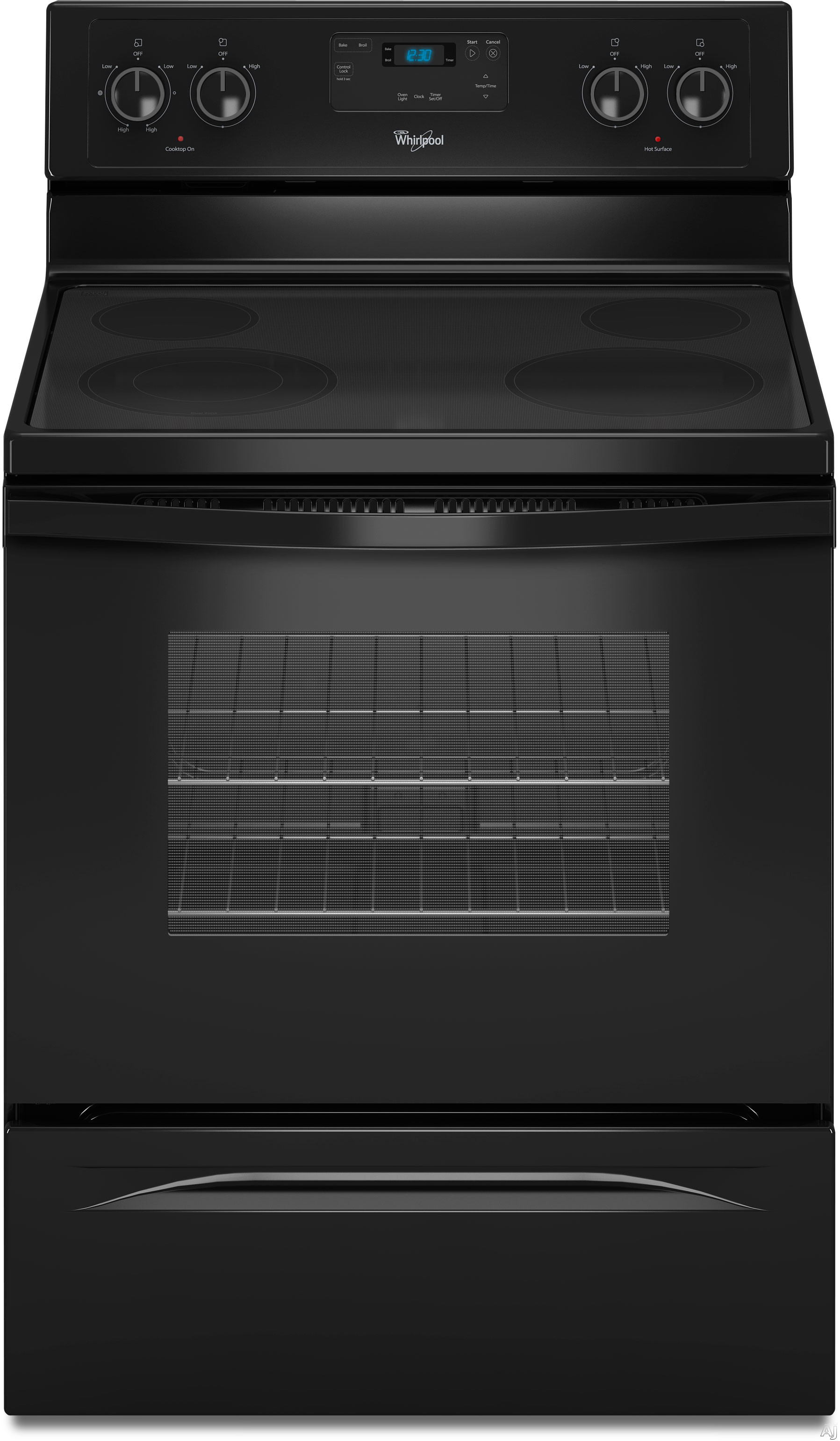 Whirlpool Wfe320m0a 30 Quot Freestanding Smoothtop Electric border=