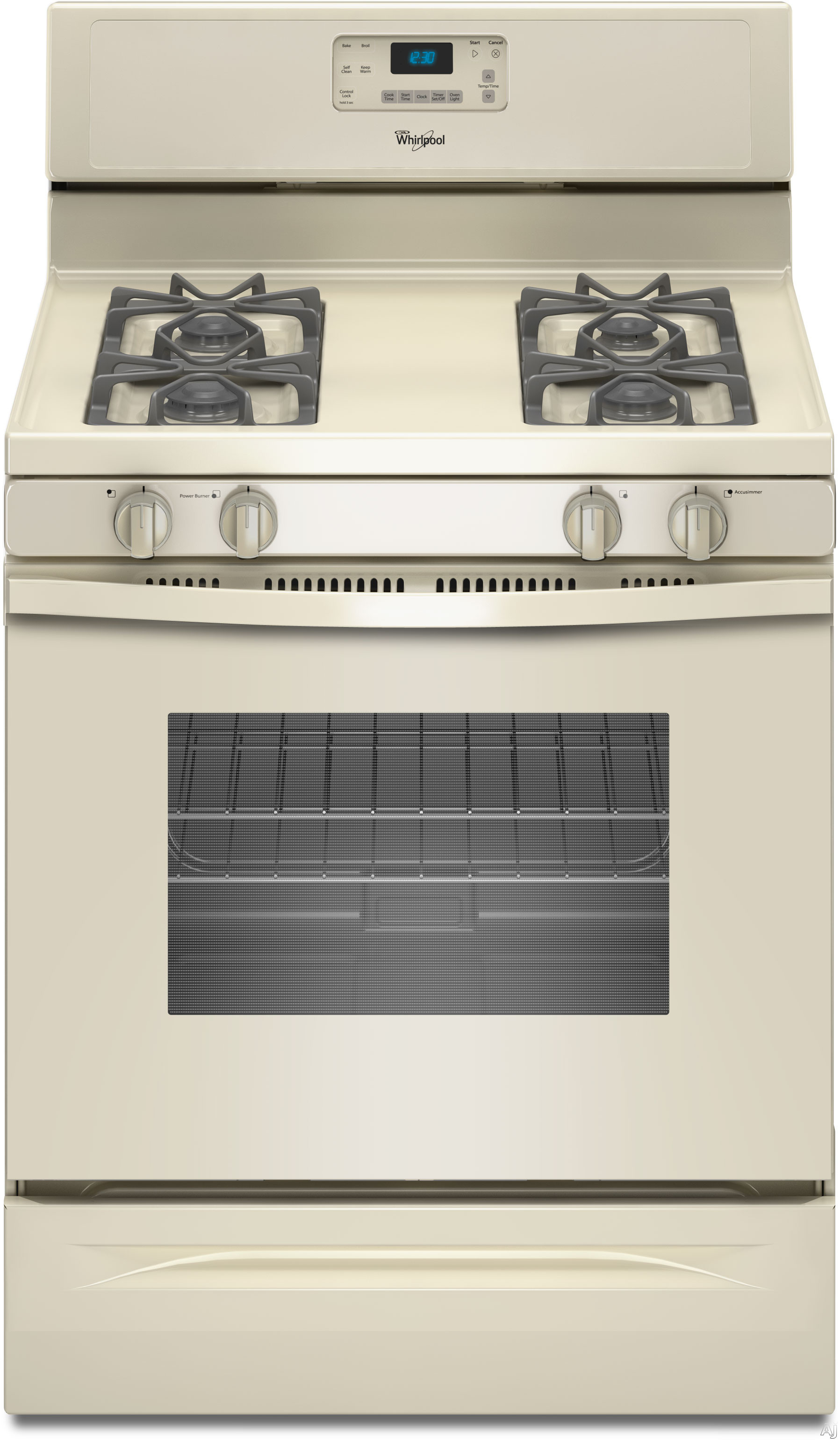 Whirlpool wfg510s0at 30 freestanding gas range with 4 sealed burners 5 0 cu ft self cleaning - Clean gas range keep looking new ...