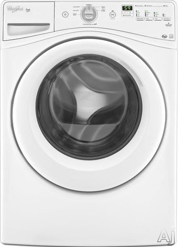 "Whirlpool WFW70HEBW 27"" Front-Load Washer with 4.1 cu. ft. Capacity, 7 Wash Cycles, Cold Wash Cycle, U.S. & Canada WFW70HEBW"