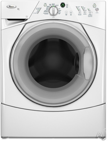 Whirlpool Wfw8400tw 27 Quot Front Load Washer With 3 7 Cu Ft