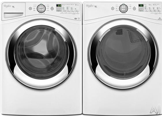 Whirlpool Wfw86hebw 27 Quot Front Load Steam Washer With 4 1