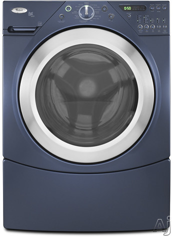 Whirlpool Wfw9400ve 27 Quot Front Load Washer With 4 0 Cu Ft