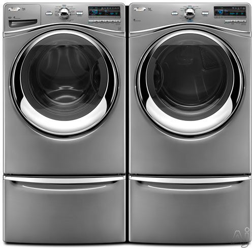 Whirlpool Wfw94hexl 27 Quot Front Load Washer With 4 3 Cu Ft