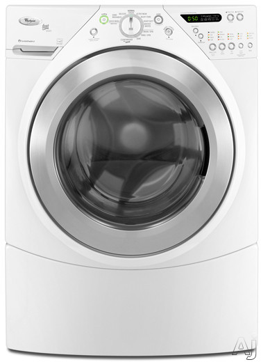 "Whirlpool Duet Steam WFW9550WW 27"" Front-Load Washer with 3.8 cu. ft. Capacity, 12 Wash Cycles, U.S. & Canada WFW9550WW"