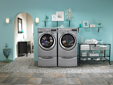 With Matching Dryer, Premium Pedestals and Worksurface (Sold Separately)