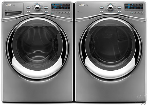 Whirlpool Wfw95hexl 27 Quot Front Load Washer With 4 3 Cu Ft
