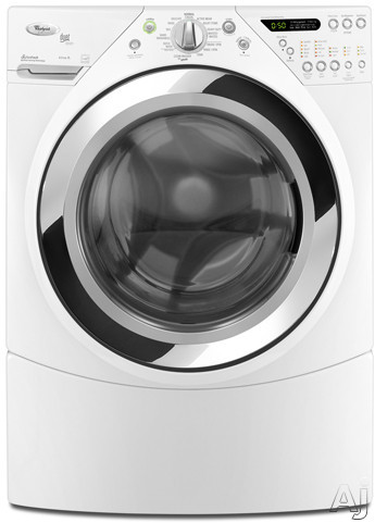 "Whirlpool Duet Steam WFW9750W 27"" Front Load Steam Washer with 3.9 cu. ft. Capacity, 14 Automatic, U.S. & Canada WFW9750W"