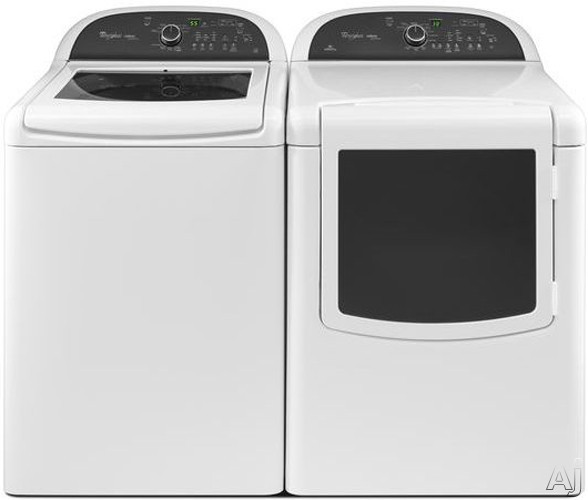 Whirlpool Wgd8100bw 29 Quot Gas Dryer With 7 6 Cu Ft