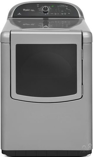 """Whirlpool Cabrio WGD8500BC 29"""" Gas Dryer with 7.6 cu. ft. Capacity, 14 Dry Cycles, EcoBoost Option, U.S. & Canada WGD8500BC"""
