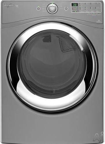 "Whirlpool Duet Steam WGD86HEBC 27"" Steam Gas Dryer with 7.4 cu. ft. Capacity, 9 Wash Cycles, 5, U.S. & Canada WGD86HEBC"