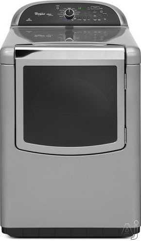 """Whirlpool Cabrio WGD8900BC 27"""" Gas Dryer with 6.7 cu. ft. Capacity, 13 Dry Cycles, 5 Temperautre, U.S. & Canada WGD8900BC"""