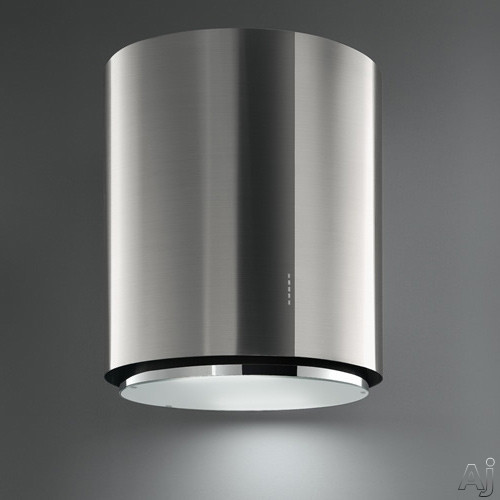 Futuro Futuro Ellipso Series WL28ELLIPSO 28 Inch Wall Mount Range Hood with 940 CFM Internal Blower, 4-Speed Whisper-Quiet Fan, Energy Efficient Fluorescent Lighting, Boost Mode and Convertible to Non-Ducted Operation