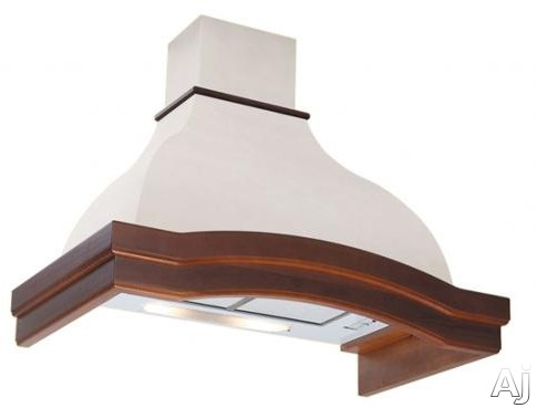 Futuro Futuro Orchid Series WL36ORCHID 36 Inch Wall Mount Chimney Range Hood with 800 CFM Internal Blower, 3-Speed Whisper-Quiet Fan, 2 Work Lights, 2 Lifetime Filters, Convertible to Non-Ducted Operation and Customizable Frame/Body