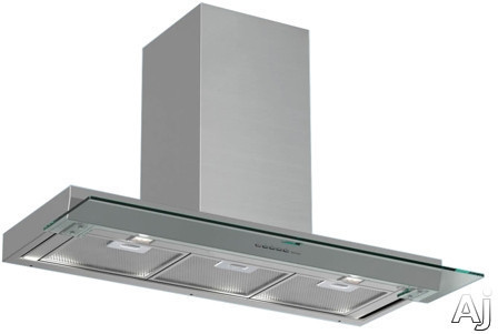 "Futuro Futuro Shade Series WL48SHADE Wall Mount In-Cabinet / Under-Cabinet Range Hood with 940 CFM Internal Blower, 4-Speed Whisper-Quiet Fan, 2 Halogen Work Lights, Slide-Out Glass Panel and Convertible to Non-Ducted Operation: 48"" Width"