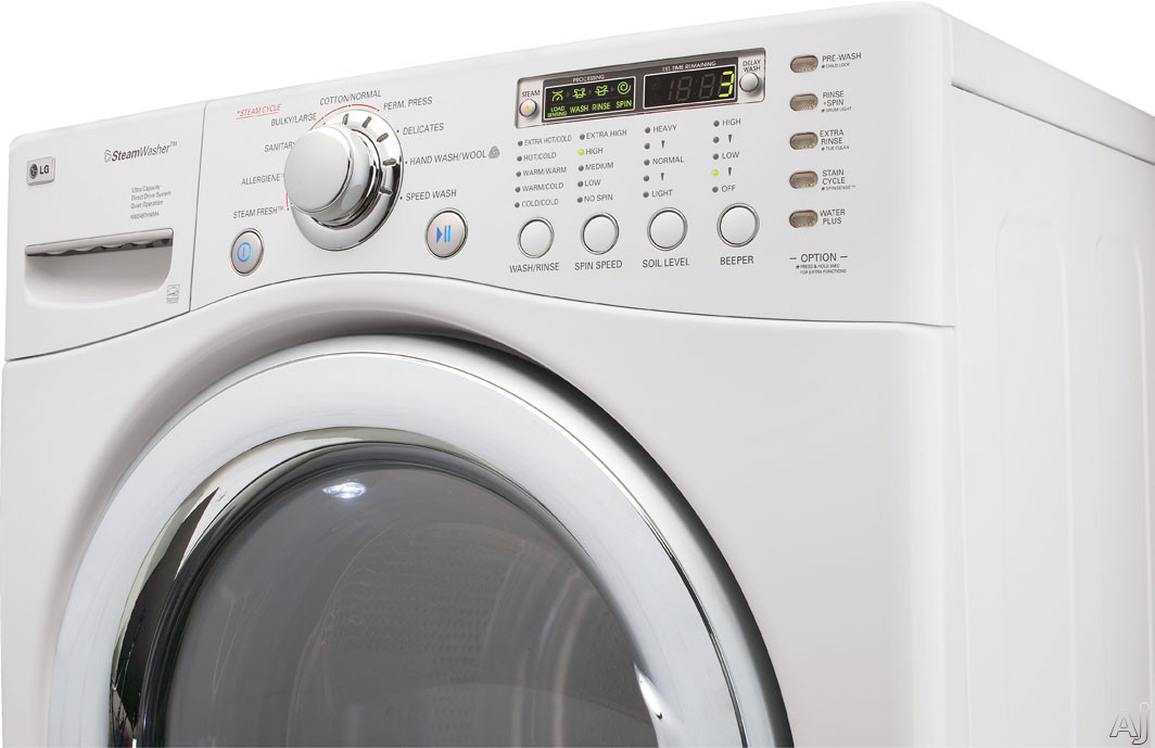 Lg Wm2487hwma 27 Quot Front Load Steam Washer With 4 2 Cu Ft