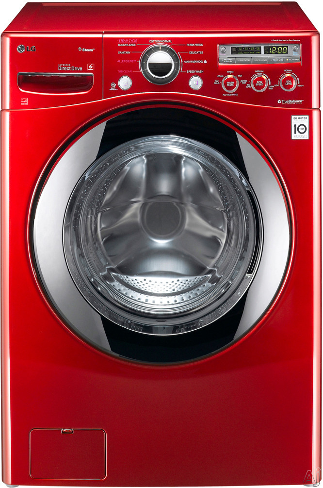 "LG SteamWasher Series WM2650HRA 27"" Front-Load Washer with 3.6 cu. ft. Capacity, 9 Wash Cycles, 9, U.S. & Canada WM2650HRA"