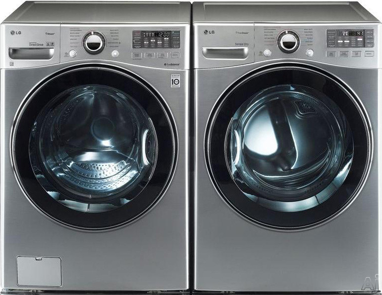 "LG TurboWash Series WM3470H 27"" Front-Load Washer with 4.0 cu. ft. Capacity, 12 Wash Cycles, 11, U.S. & Canada WM3470H"