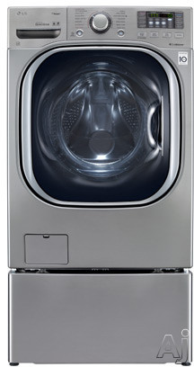 "LG TurboWash Series WM4070H 27"" Front-Load Washer with 4.3 cu. ft. Capacity, 14 Wash Cycles, 12, U.S. & Canada WM4070H"